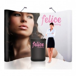 10 ft. Pop Up Trade Show Display